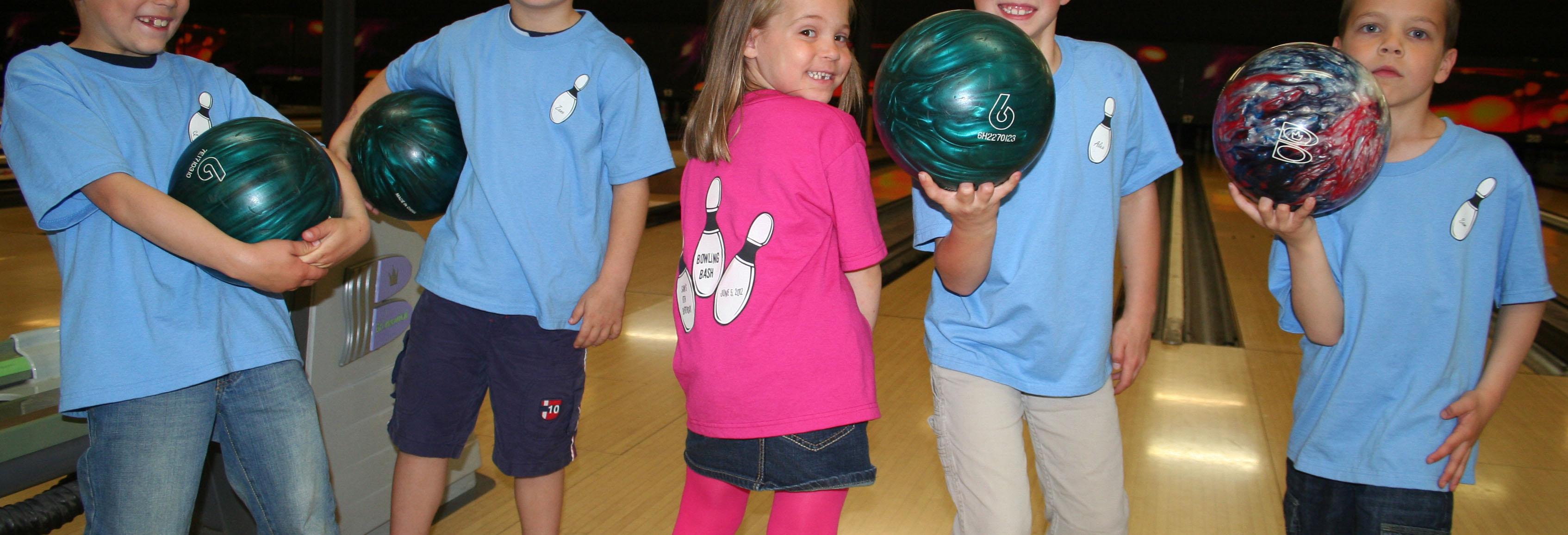 Kids Bowling Party