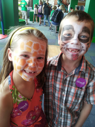7-7-2012 children's museum face paint