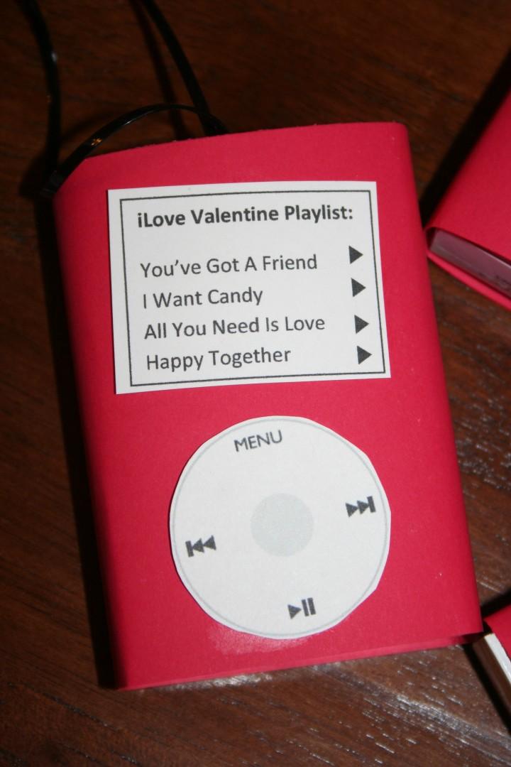 ipod valentine