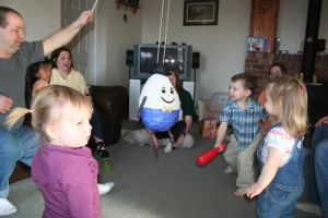mother goose pinata action
